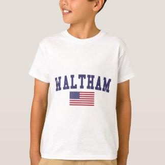Waltham US Flag T-Shirt