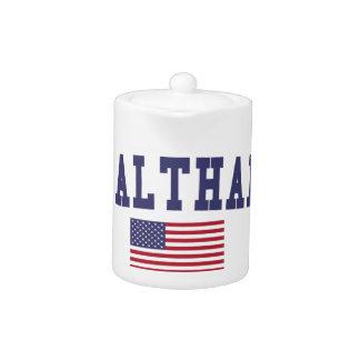 Waltham US Flag Teapot
