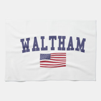 Waltham US Flag Towel