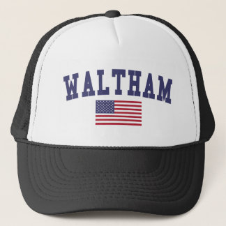 Waltham US Flag Trucker Hat