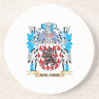 Walther Coat of Arms - Family Crest Beverage Coasters