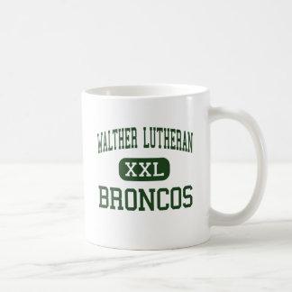 WALTHER LUTHERAN - BRONCOS - HIGH - Melrose Park Mug