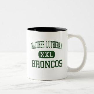 WALTHER LUTHERAN - BRONCOS - HIGH - Melrose Park Coffee Mugs