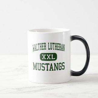WALTHER LUTHERAN - MUSTANGS - HIGH - Melrose Park Mug