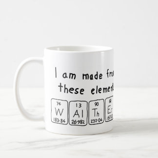 Walther periodic table name mug