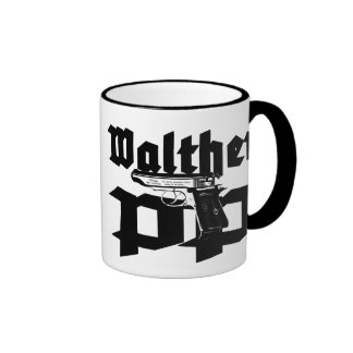 Walther PP Taza A Dos Colores