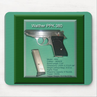 Walther PPK380ACP Mouse Pad