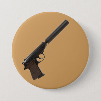 Walther PPK semi-automatic Pinback Button