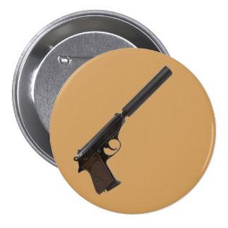 Walther PPK semiautomático Pin Redondo De 3 Pulgadas