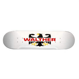 Walther Surname Skate Boards