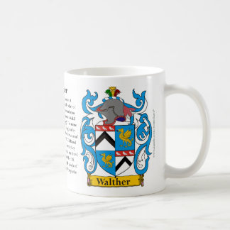 Walther, the Origin, the Meaning and the Crest Coffee Mug