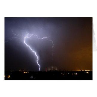 Waltking Stick Lightning Card
