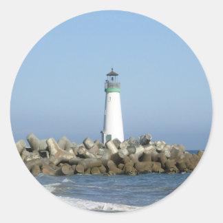Walton Lighthouse Classic Round Sticker
