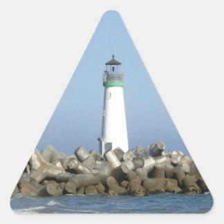 Walton Lighthouse Triangle Sticker