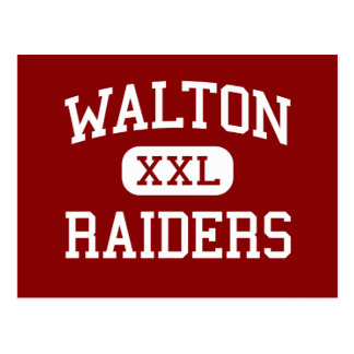 Walton - Raiders - High School - Marietta Georgia Postcard