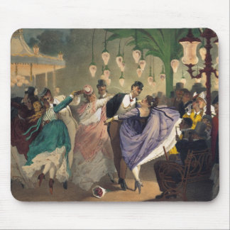 Waltz at the Bal Mabille Mouse Pad