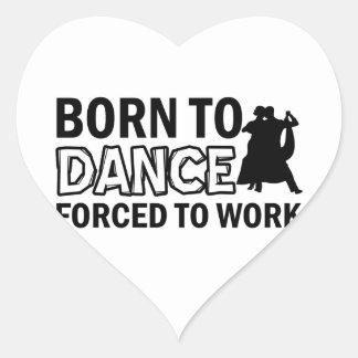 waltz designs heart sticker
