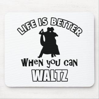 waltz Designs Mouse Pad
