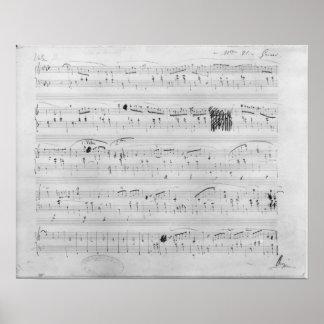 Waltz in F minor Poster