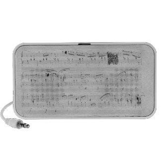 Waltz in F minor Notebook Speaker