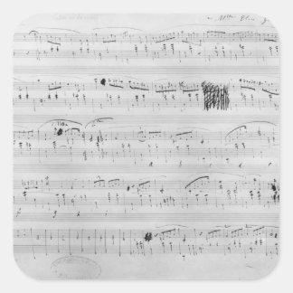 Waltz in F minor Square Sticker