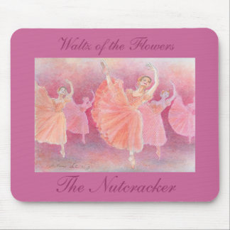 Waltz mouse pad of flower