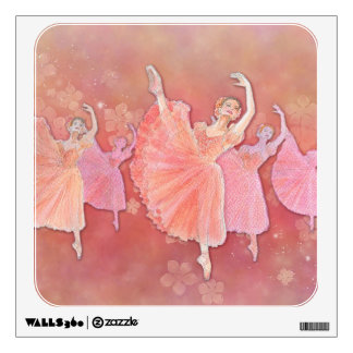 Waltz of the Flowers Ballet Art Wall Decal