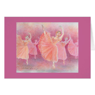 Waltz of the Flowers Greeting Card