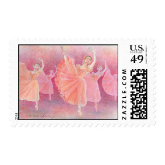 Waltz of the Flowers Postage Stamps