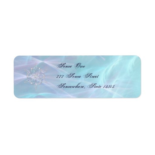 Waltz of the Snowflakes Address Labels