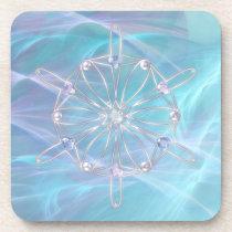Waltz of the Snowflakes Cork Coaster