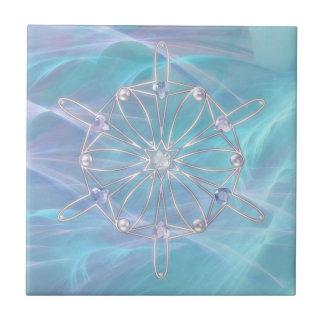 Waltz of the Snowflakes Decorative Tile