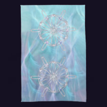 Waltz of the Snowflakes Kitchen Towel