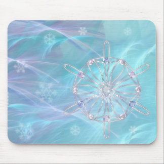 Waltz of the Snowflakes Mousepad