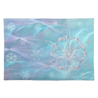 Waltz of the Snowflakes Placemat Cloth Place Mat