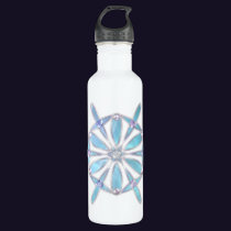 Waltz of the Snowflakes Stainless Steel Water Bottle