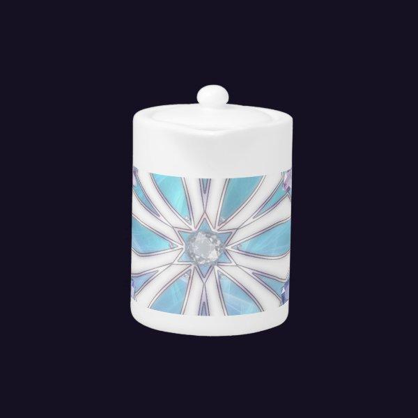 Waltz of the Snowflakes Teapot