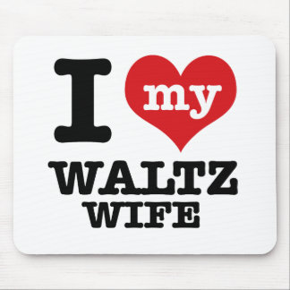 waltz wife mouse pad