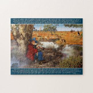 Waltzing Matilda 14x11 Puzzle