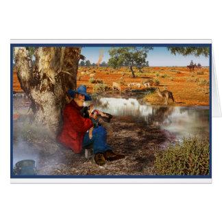 Waltzing Matilda Card