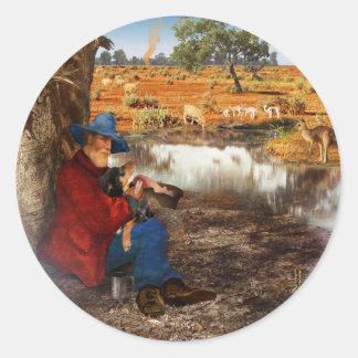 Waltzing Matilda Sticker