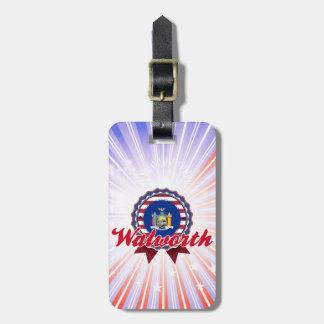 Walworth, NY Etiquetas Bolsas