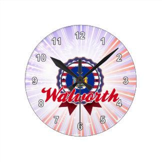 Walworth, NY Reloj De Pared