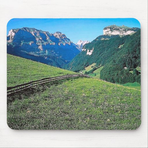 Waml in the mountains mousepads