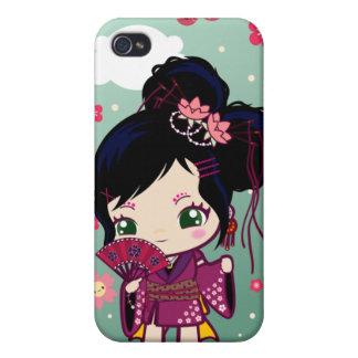 Wamono Japanese Girl Ayaka iPhone 4/4S Cases