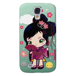 Wamono Japanese Girl Ayaka Samsung Galaxy S4 Case