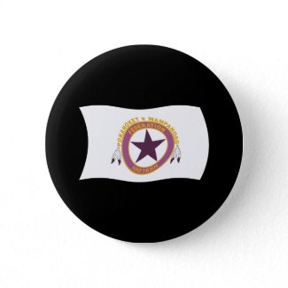 Wampanoag Tribe Flag Button button