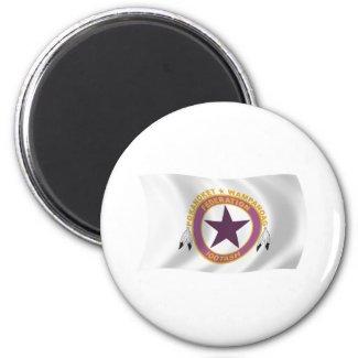 Wampanoag Tribe Flag Magnet magnet