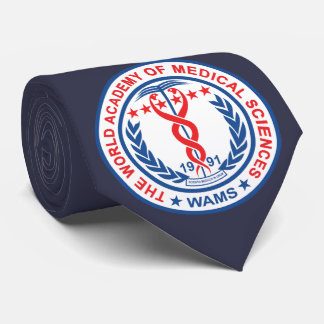 WAMS Neck Tie Blue - Color Logo