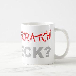 Wana Scratch My Deck? - DJ Disc Jockey Music Classic White Coffee Mug
